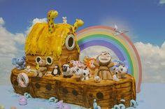 Noah Ark Cake by CforCupcake, via Flickr