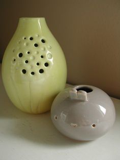 """A Bay Area ceramicist whose work is just SO sweet. I had one of her vases on my """"wish list"""" for several years."""