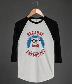 """""""Because Chemistry"""" The fanciest of all memes, the bow tied Chemistry Cat!  #because_science #science #scientist #universe #cats #meme #bow_tie #nerd_alert #geek_alert #nerd_wear #geek_wear"""