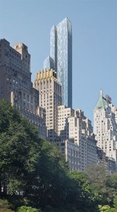 view of the park #One57 #NY info@mbreny.com 212.308.2482