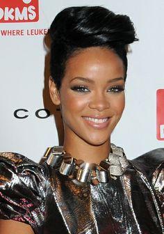 Rihannas chic short hairstyle