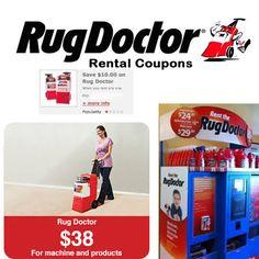 Kroger rug doctor rental coupons