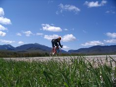 Keep your eyes on the road? Adirondack cycling - road and mountain routes - all with a stunning view...