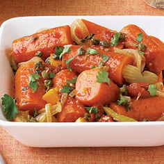 Braised Carrots with Oranges and Capers