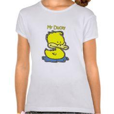ducky+tee+shirt | Mr Ducky T-shirt