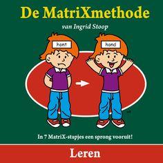 Omslag van prentenboek leren. MatriXmethode  www.angelinebegeleiding.nl