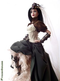 Steampunk Barbie by Frozenhouse, on Flickr