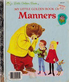 Little Golden Book of Manners - Little Golden Book