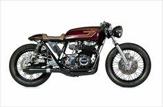 1976 Honda CB750 Supersport - RubyRed - Pipeburn - Purveyors of Classic Motorcycles, Cafe Racers & Custom motorbikes