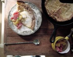 Whole Wheat Dutch Baby Pancakes Recipe • theVintageMixer.com