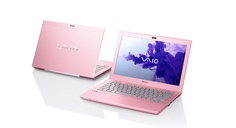Because pink is fabulous... The Vaio S. #PinItToGiveIt