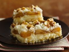 Apple Streusel Cheesecake Bars Recipe (Gluten Free)