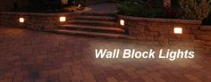 Paver lights offer what amounts to a sort of landscape lighting solution to driveways and walkways constructed out of brick pavers.