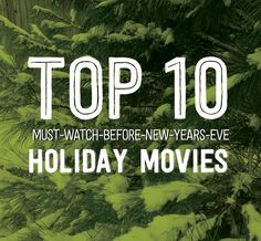 My top 10 favorite holiday movies! Christmas time with the family