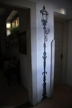 narnia kids room, bulb, playroom, kid rooms, lamppost, babi, hous, bedrooms, lamp post