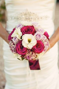 pink and white #wedding bouquet