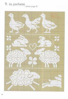 .knitting colour chart