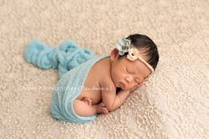 newborn baby girl in