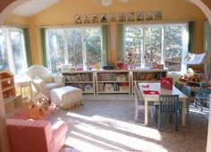 beach live, playroom idea, beaches, kid spaces, beach living, homeschool room, study rooms, future kids, room tour