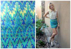 ♥ LOOK OF THE DAY 30-11-2012 ♥  ♥ Camisa de Gasa Crudo  ♥ Mini Jacquard Acqua  ♥ Saona Birken Sandals Crudo