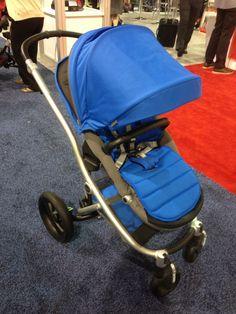 New #Britax affinity stroller in Sky Blue #dazzlingblue #bold #baby