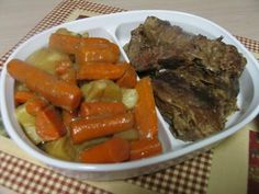 Crock Pot No Fail Beef Pot Roast {Makes it's own Gravy}
