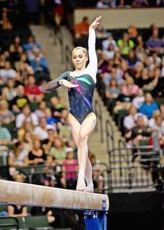 mckayla maroney - gymnastics Olympic gymnast balance beam  #KyFun moved from McKayla Maroney board http://www.pinterest.com/kythoni/mckayla-maroney/ m.5.38