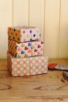 Yozo Craft: How to DIY Kraft Paper Gift Box