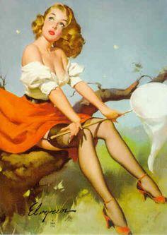 Nature Girl (Gil Elvgren, 1956)