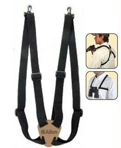 Allen Company 4 Way Adjustable Deluxe Binocular Strap, Black  Sale Price: $7.45
