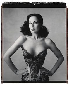 Dita Von Teese photographed by Mary Ellen Mark. S)