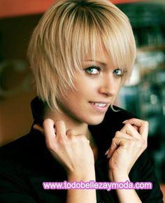 Cortes de pelo y peinados 2009, cabello corto