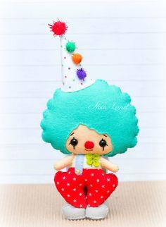 PDF Pattern. Clowns. Plush Doll Pattern by Noialand on Etsy