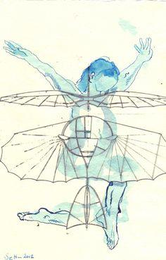 Dream to fly  part 42  www.susannehaun.de