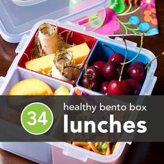 34 Healthy Bento Box Lunches