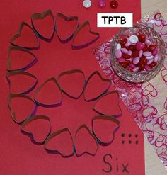 Valentine's Day Math and Science for Preschool and Kindergarten