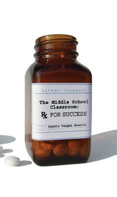 The Middle School Classroom: Rx for Success. Full of classroom management tips. http://baywestpublishing.wix.com/home