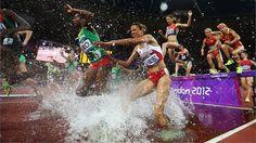 Anna Meares of Australia competes against Lyubov Shulika of the Ukraine