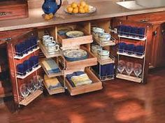 kitchen storage ideas for small spaces - Google Search