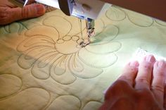 Take your machine quilting skills in new directions. Ann Petersen teaches more than a dozen motifs to add depth and richness to your quilts. Enroll today in Beyond Basic Machine Quilting. Click the image or: http://www.craftsy.com/ext/20121202_ClassPin2