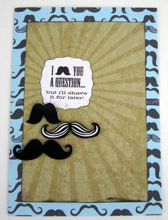 mambi blog — me & my BIG ideas - mustache card