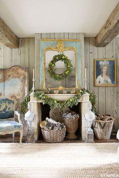 Elegant Holiday Decor Ideas - Traditional Holiday Decorating - Veranda