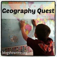 Geography Quests at Blog, She Wrote