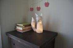 Electrified Fox Lamp Tutorial