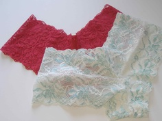 Make your own lace undies - tutorial and free pattern