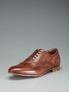 Wedding Shoes: Antonio Maurizi Wingtip Brogue Oxfords