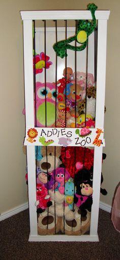 Stuffed animal storage. The Keeper of the Cheerios: Addies Zoo zoo1jpg 7411600, babi idea, 7411600 pixel