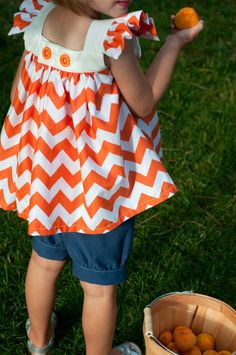 Aesthetic Nest: Sewing: The Summer Set (Pattern)    #sewing #pattern #top #blouse #ruffle #easy #bloomers #girl