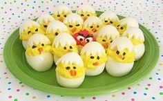 Deviled Egg Chicks @ Texas Recipes