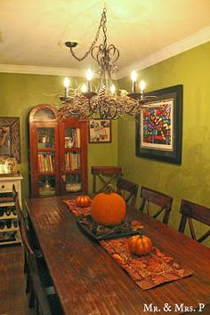 Mr and Mrs P: Fall Decorating Ideas